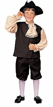 Colonial Boy Costume -  Childrens Historical Costumes - SOLD OUT