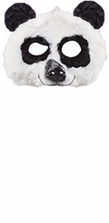 Costume Masks - Furry Childrens Panda Mask