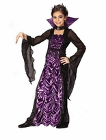 Countess of Darkness Costume - Girls Vampire Costume