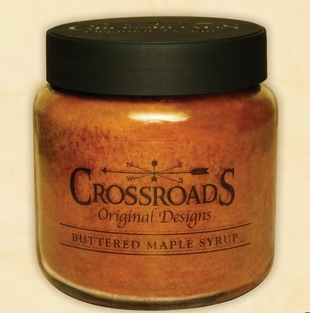 Crossroads Candles Warm Buttered Maple Syrup