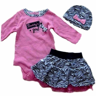 Daddy's Little Girl 3 Piece Set - OUT OF STOCK