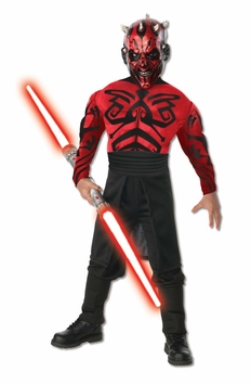 Darth MAUL Costume -  DELUXE MUSCLE CHEST