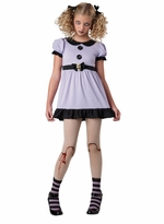 Dead Zombie Costume - Dead Dolly Costume
