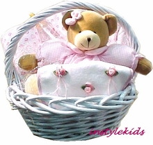 Deluxe Baby Gift Basket- Girls