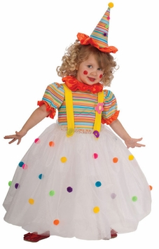DELUXE Candy Clown Costume - NEW! - Out Of Stock