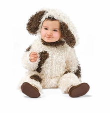 DELUXE FURRY PUPPY DOG COSTUME - SALE!