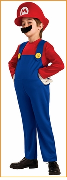 Deluxe MARIO COSTUME - Red Shirt