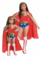 Deluxe Wonder Woman Girls Costume