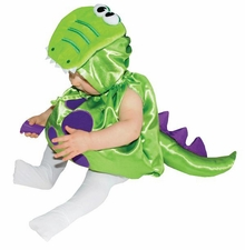 Dinosaur Baby Halloween Costume : Infant Costume Green Dinosaur Costume