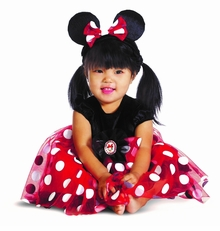 Disney Character Costumes : My First Disney Red Minnie Costume
