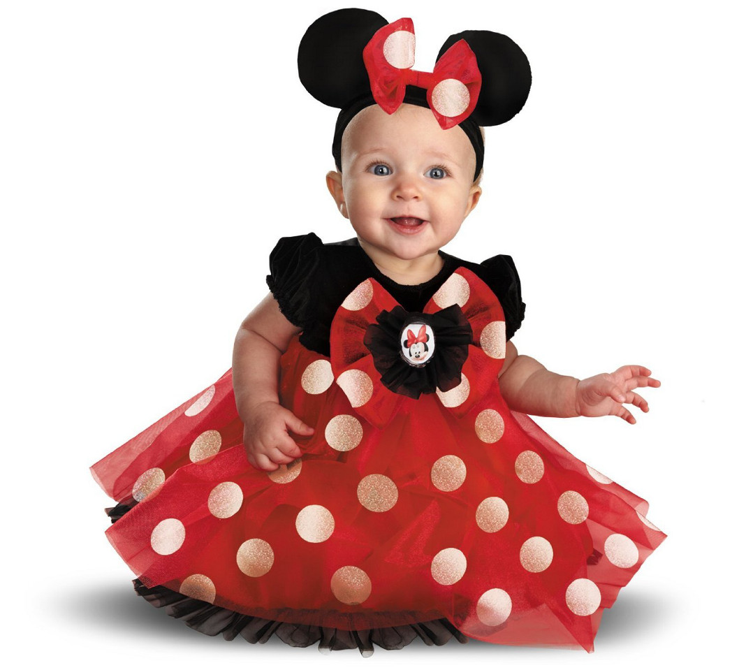Disney character costumes my first disney red minnie costume