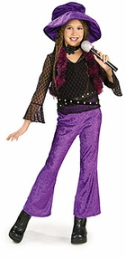 Diva Rock Star Costume with Hat