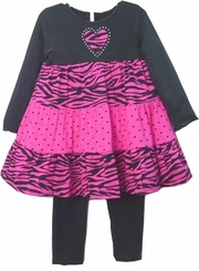 Dress Set with Legging