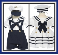 DRESSY NAUTICAL SAILOR DRESSES / SUITS