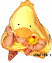Ducky Hooded Towel (Scroll Down to Order)
