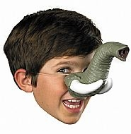 Elephant Nose with Tusks - Costume Accessory