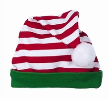 Elf Hat  Red and White Candy Stripe
