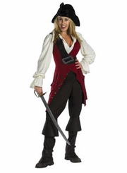 Elizabeth DELUXE Pirate Costume for  Young Girls / Tweens