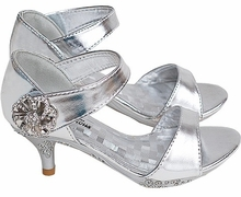 Fabulous Girls Heels - SILVER - Shoes