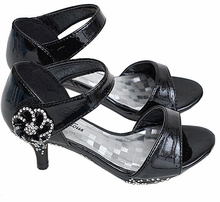 Fabulous Little Girls Heels - BLACK - Shoes