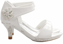 Fabulous Little Girls Heels - WHITE Patent Shoes