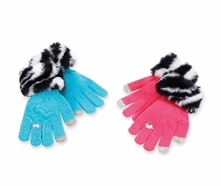 Faux Fur Texting Gloves - SOLD OUT