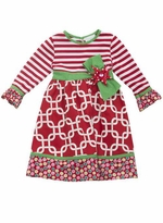 Rare Editions Girls Christmas Dress 2T - 16