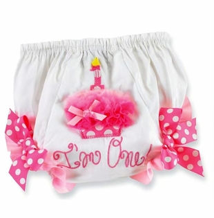 Mud Pie Birthday Bloomers - First Birthday Party Bloomer