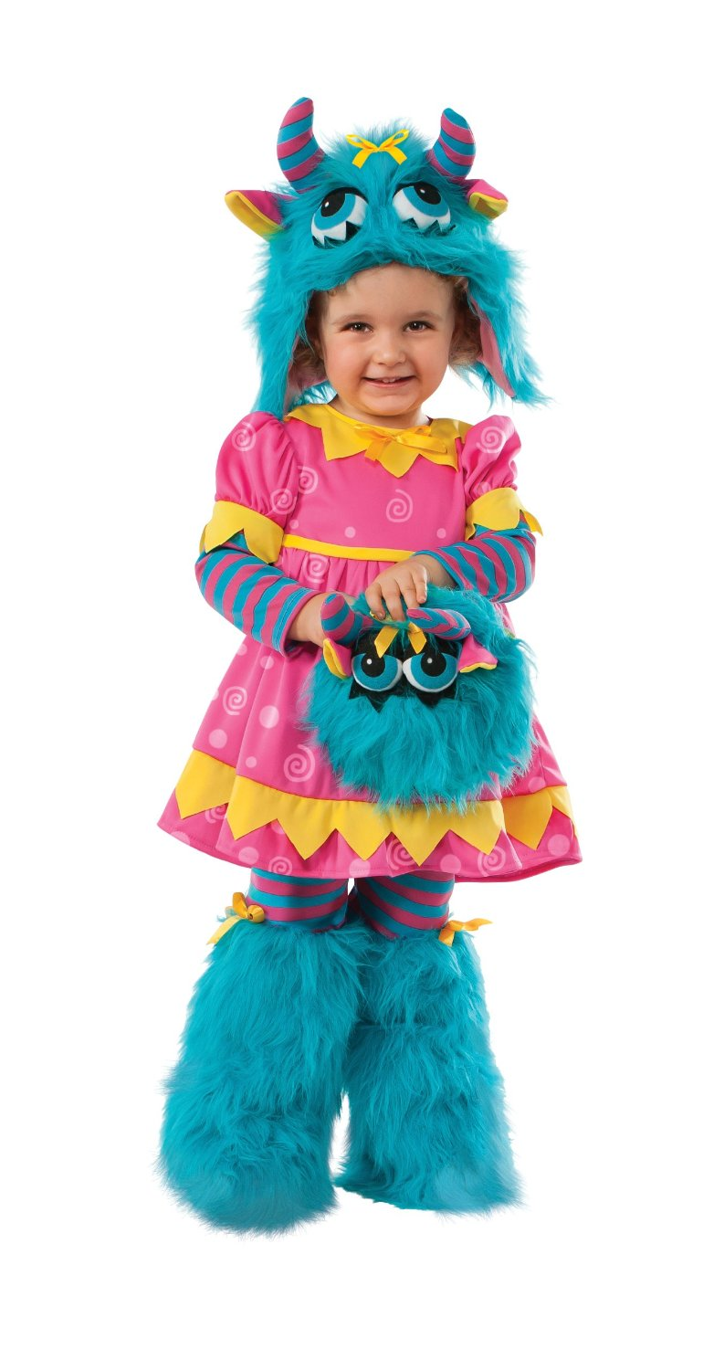 Fluffy and me muffy monster costume girls halloween costume