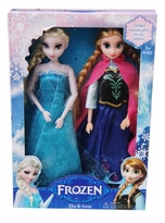 Frozen Doll Set - 11 inch Inspired Elsa and Anna  Doll Set