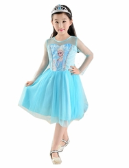 IFK Little Girls Princess Inspired Costume Short Dress