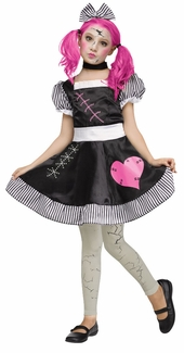 Fun World Big Girl's Broken Doll Girls Costume