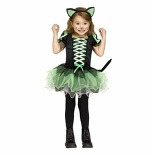 Fun World Girls Cat Queen Toddler Costume