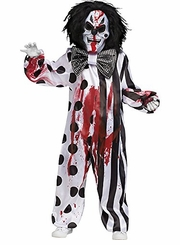 Fun World Kid's Costume Bleeding Killer Clown Costume - sold out