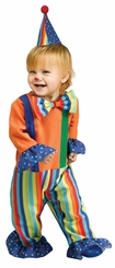 Fun World Li'L Clown Costume