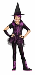 Fun World Skele-Witch Child Costume