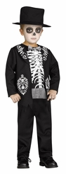 Fun World Skeleton King Toddler Costume