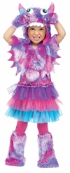 Girl's Monster Halloween Costume - Polka Dot Monster Costume - sold out