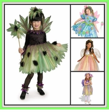 GIRL FAIRY & GYPSY COSTUMES