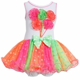 Girl's Birthday Tutu Ballon Party Dress