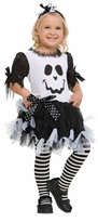 Girl's Ghost Tutu Dress - Cookie Spookie Costume