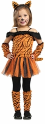 Girl's Tiger Halloween Costume - Tigress Costume
