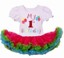 Girls 1st Birthday First Birthday Tutu Dress