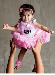 Girls 1st Birthday Tutu and # 1 Top Dressy Set