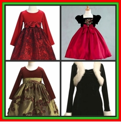 Girls 7-16 Christmas Dresses