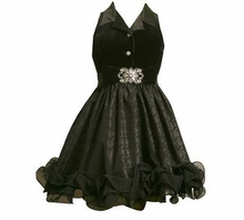 Girls Black Formal Dress