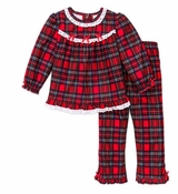 Girls Christmas Pajamas - Infant or Toddler Pant Set