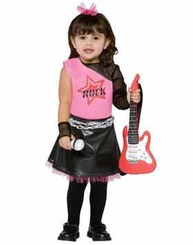 GIRLS Costumes for Toddlers -  Rock Star Costume  sold out