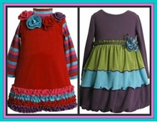 Girls Dresses - FALL / Long Sleeved