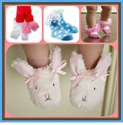 GIRLS EASTER TIGHTS , Socks, Baby Booties and Bloomers